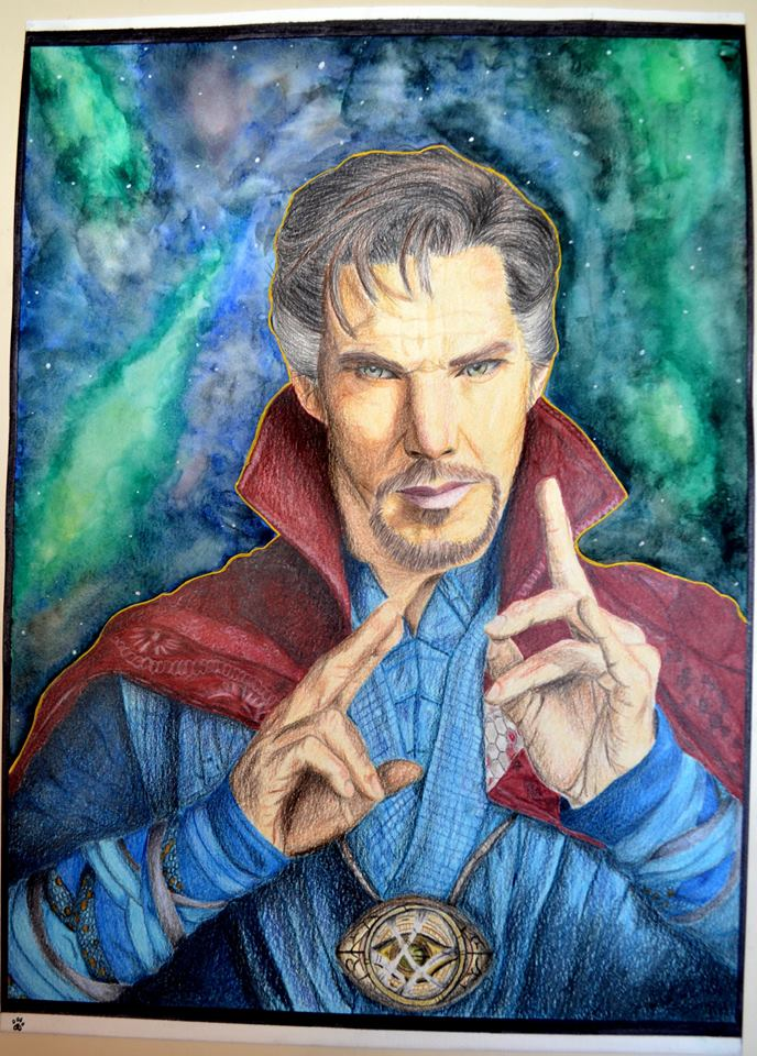 Doctor Strange by Summia-art