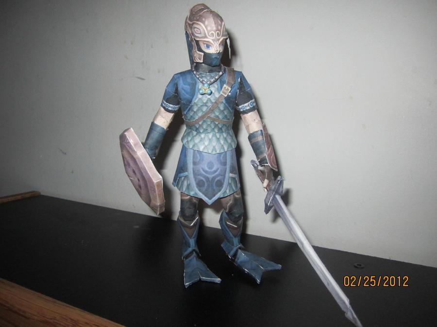 Zora Armor Link by Odolwa5432