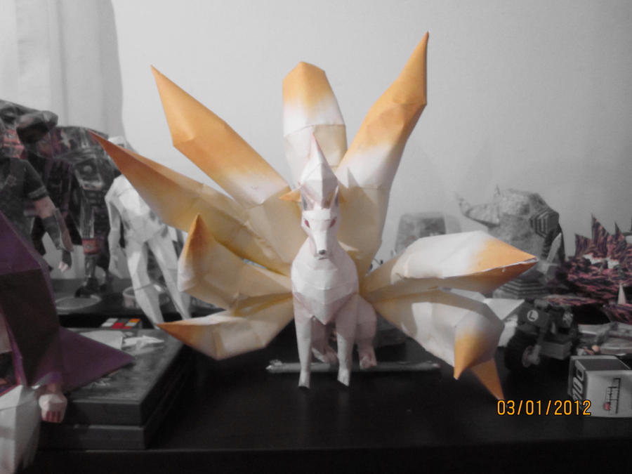 Ninetails papercraft! by Odolwa5432