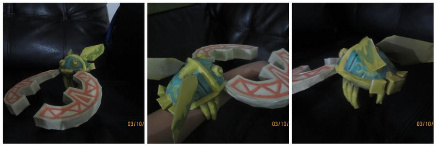 skyward sword Hook Beetle papercraft by Odolwa5432