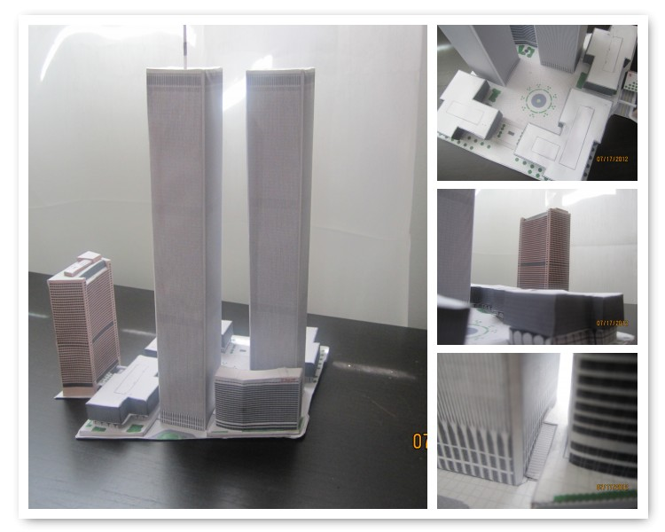 WTC Papercraft by Odolwa5432
