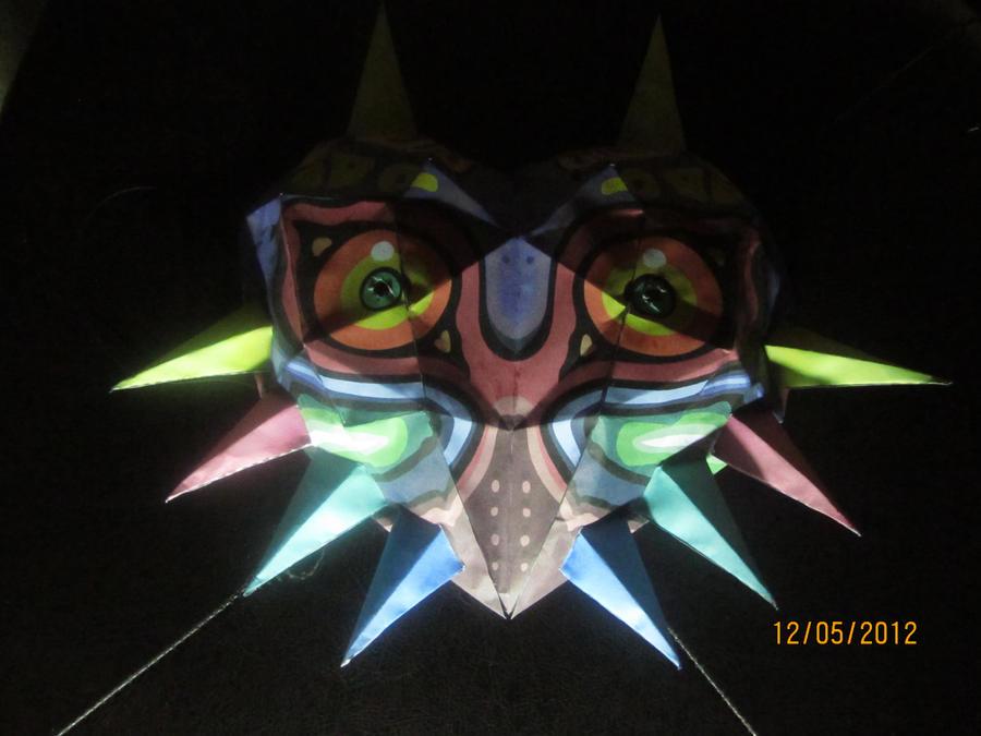 Majora's Mask Papercraft by Odolwa5432