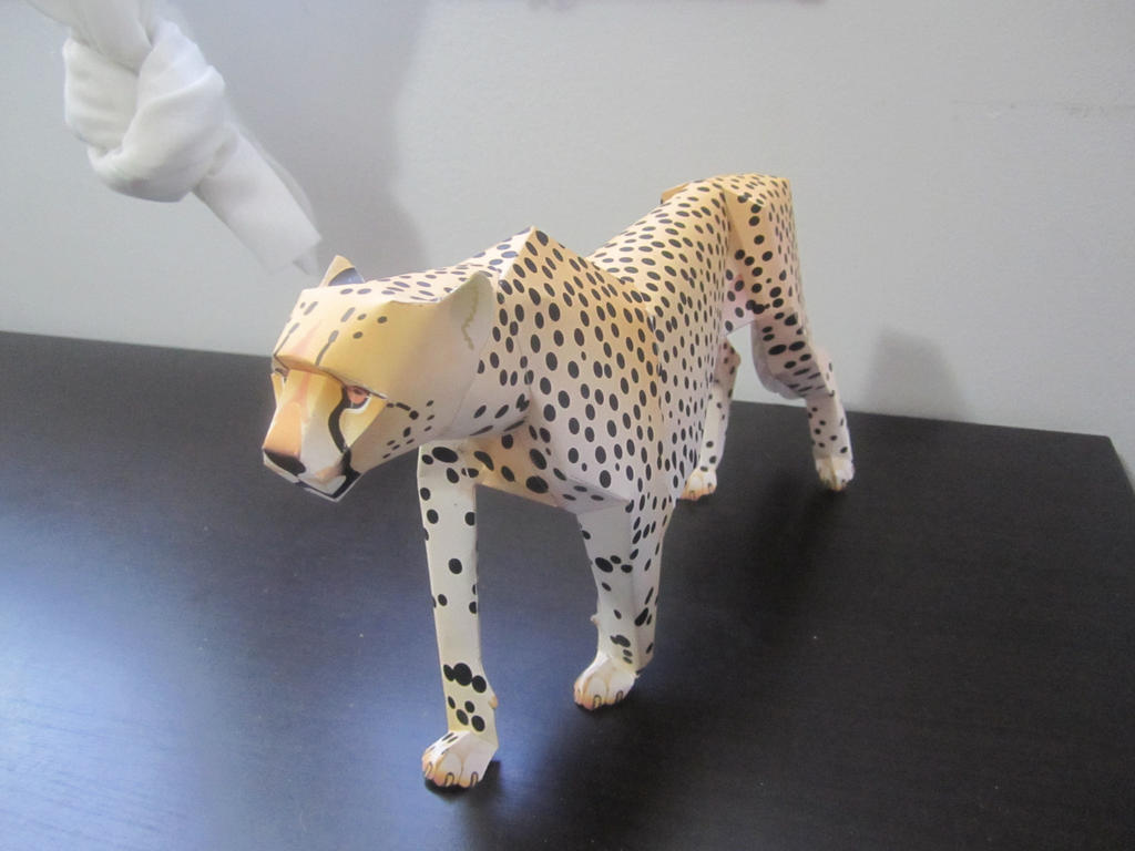 Cheetah Papercraft by Odolwa5432