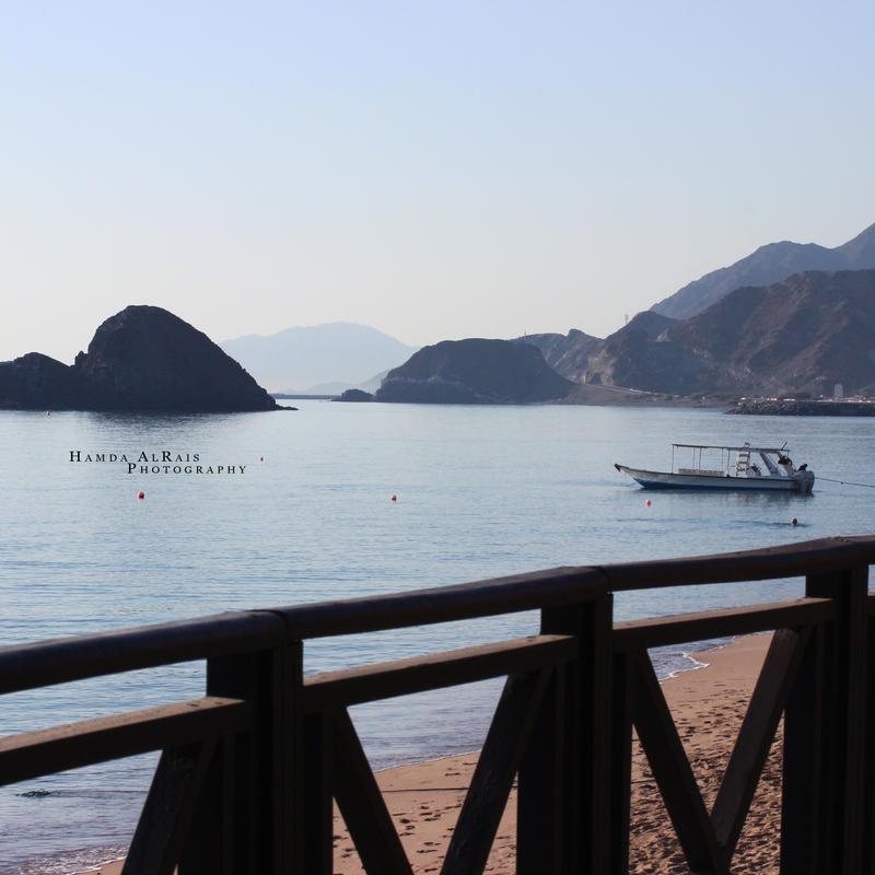 Khour Fakkan Beach by Hamda-AlRais