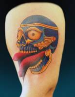 Tibetan Skull by franknardi2