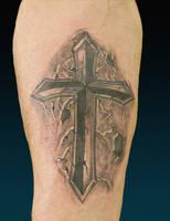 Stone Cross by franknardi2