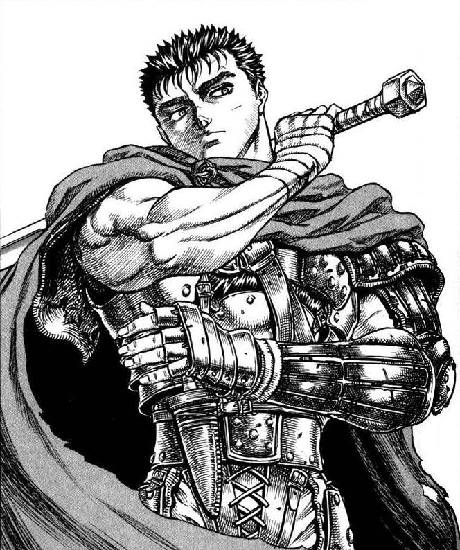 Anime Characters Like Guts : Berserk manga comic