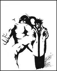 Black Tom and Juggernaut Ink