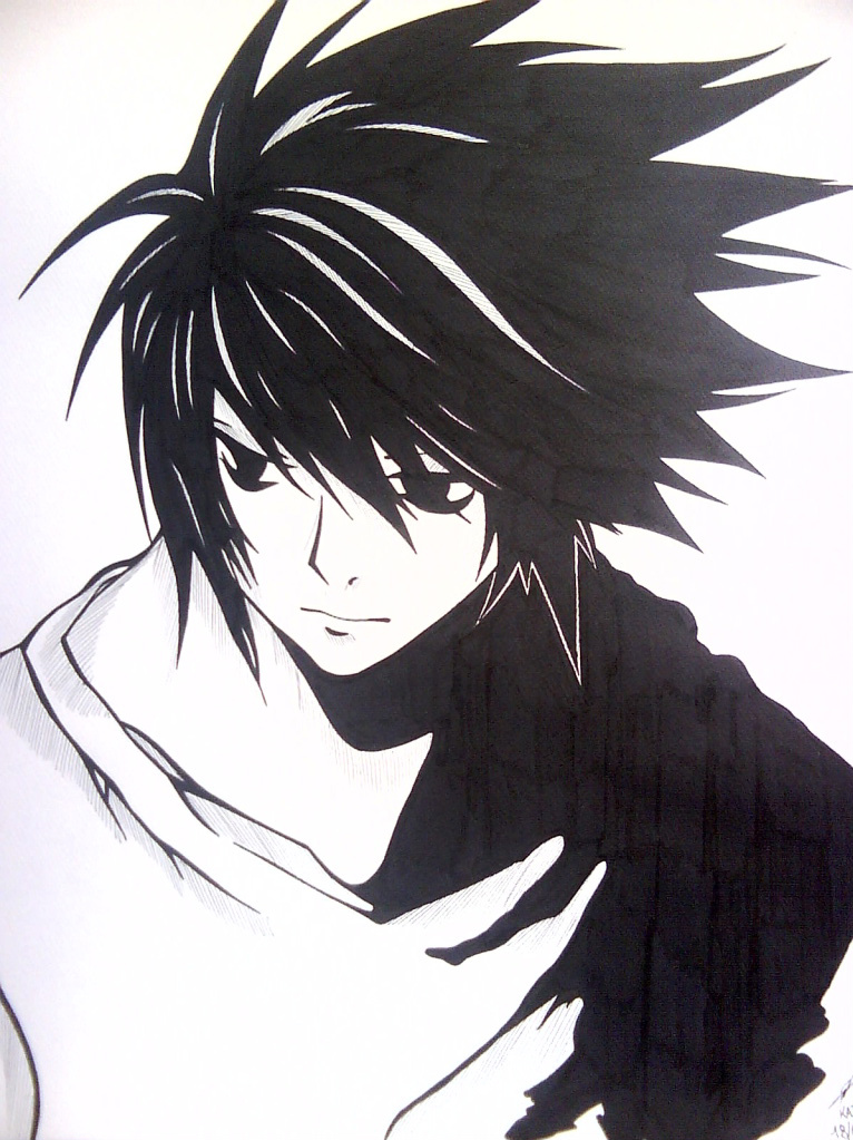 d98be3aa14cd8 Death note L by kaiuy on DeviantArt
