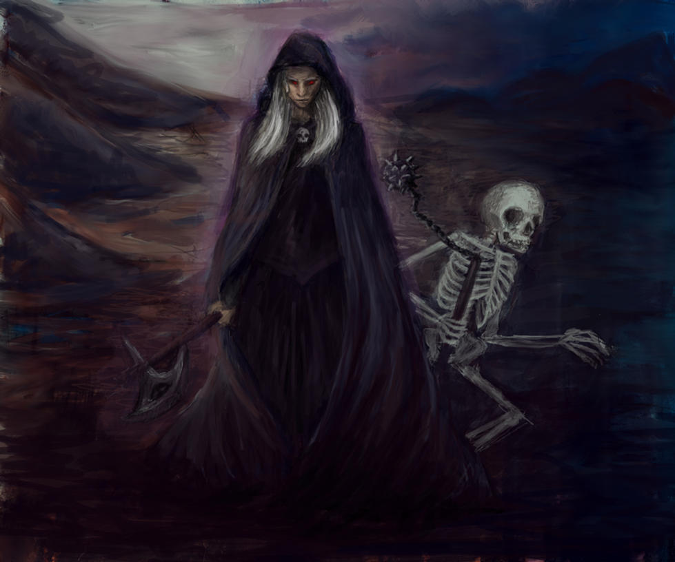 Necromancer by LadyWolf009