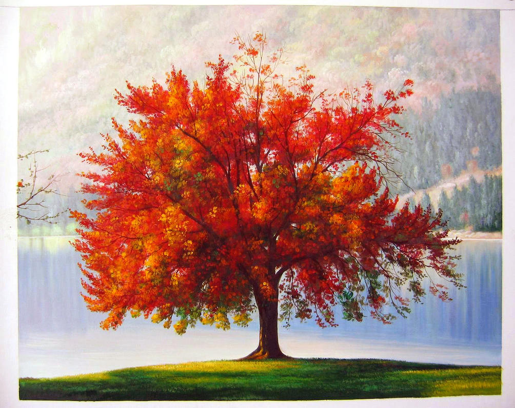 The Autumn Tree by Ted-Drakness