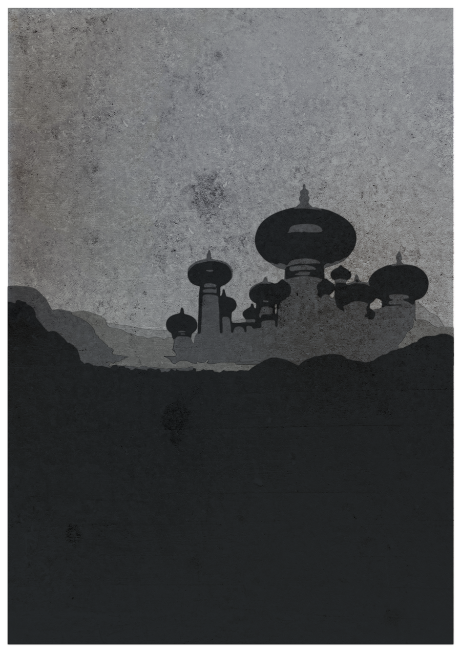 Minimalist poster of Aladdin by EntryPlug