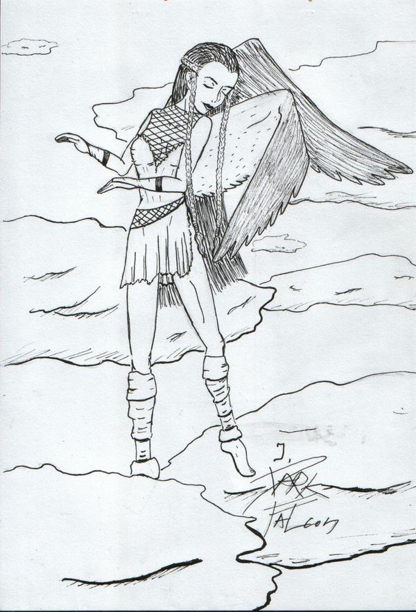 I, Dark Falcon by DarkFalcon-Z