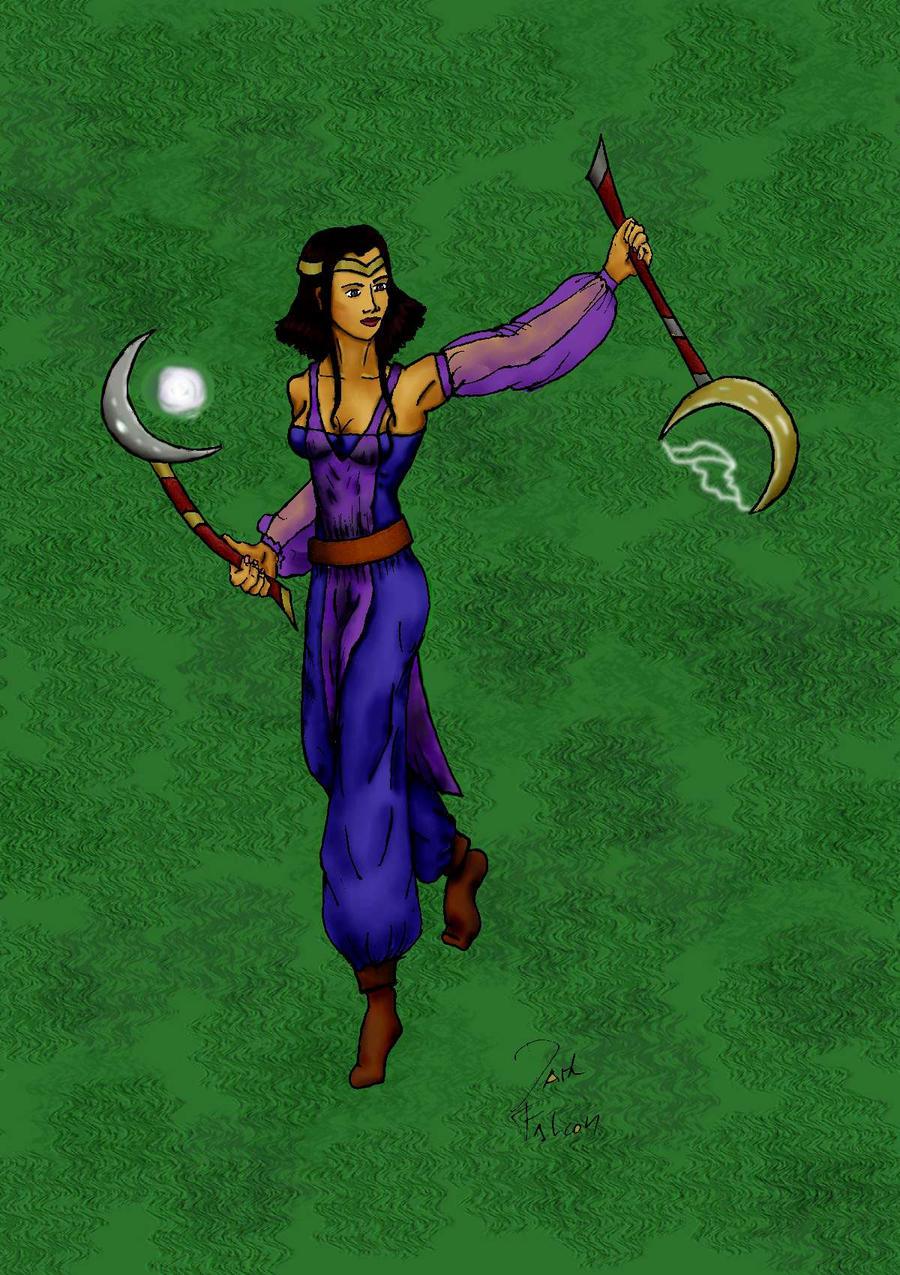 Maszajanien the sorceres by DarkFalcon-Z