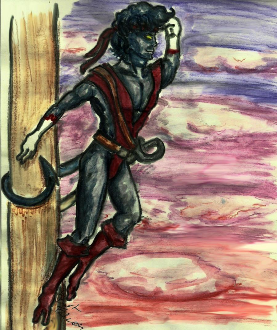 Piratecrawler in the dusk by DarkFalcon-Z