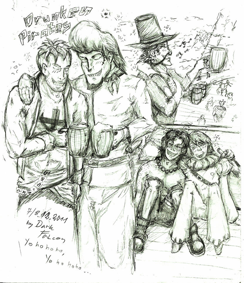 drunken doodle by DarkFalcon-Z