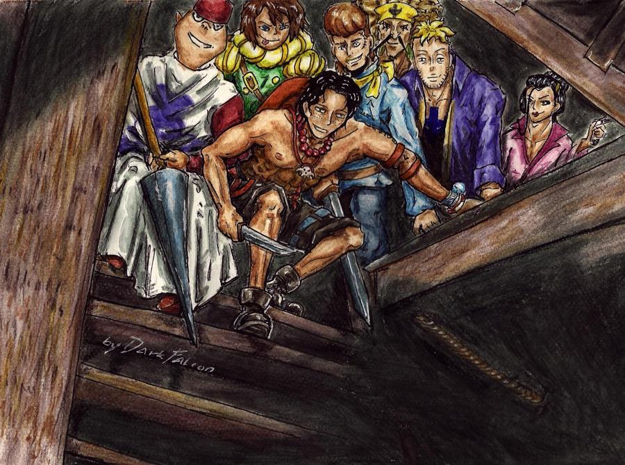 Treasure hunt by DarkFalcon-Z