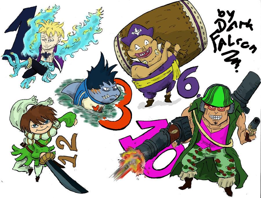 chibi commanders by DarkFalcon-Z