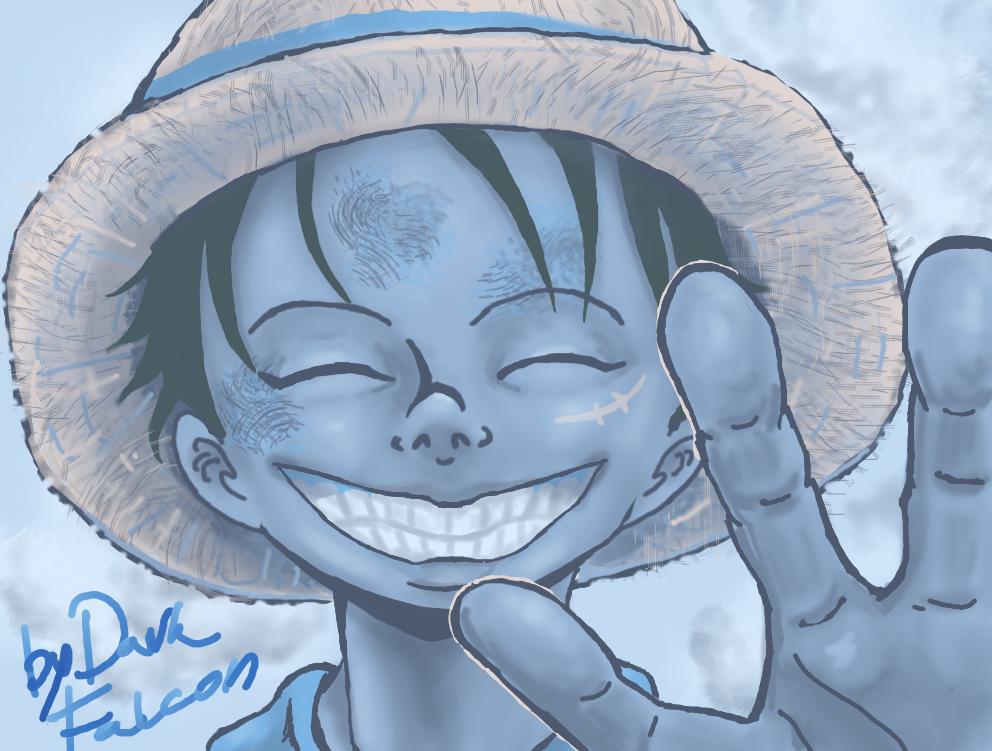 Luffy by DarkFalcon-Z