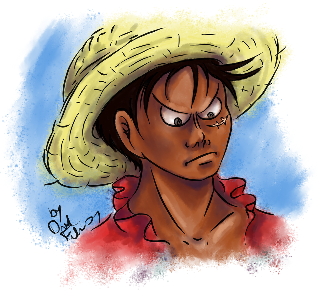 Luffy2 by DarkFalcon-Z