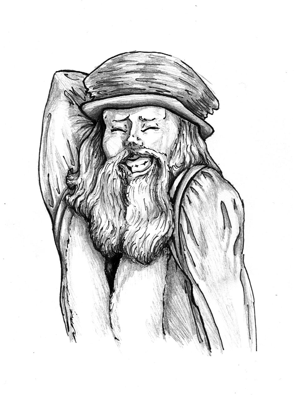 Leonardo Da Vinci by DarkFalcon-Z