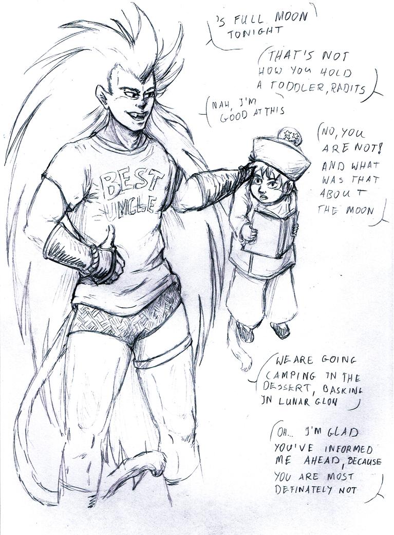 RGC comic p.1 by DarkFalcon-Z
