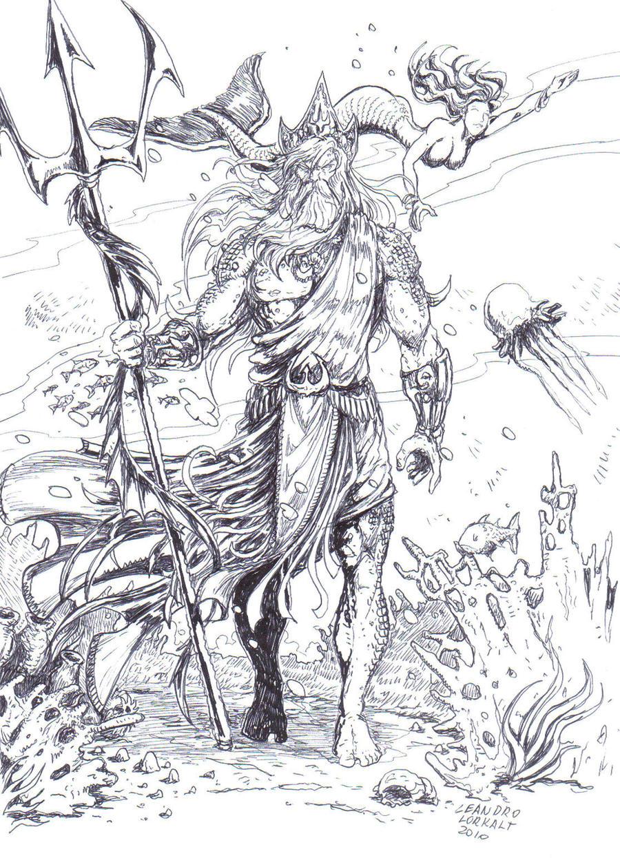 Poseidon by lorkalt