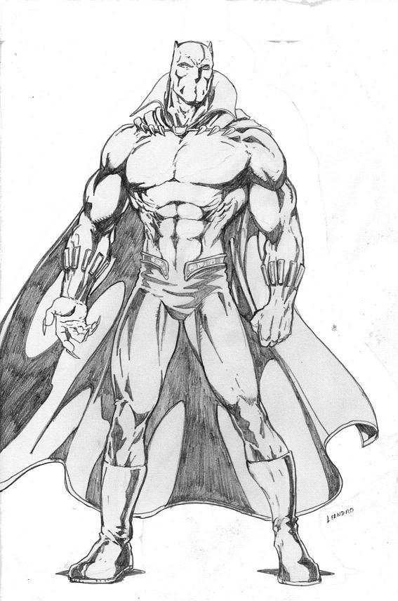 Black Panther By Lorkalt On DeviantART