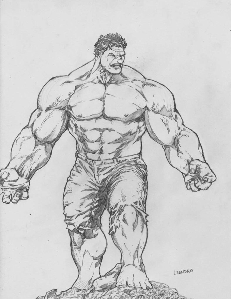 Hulk Face Line Drawing : Incredible hulk by lorkalt on deviantart