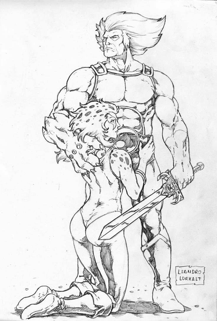 free thundercats coloring pages - photo#13