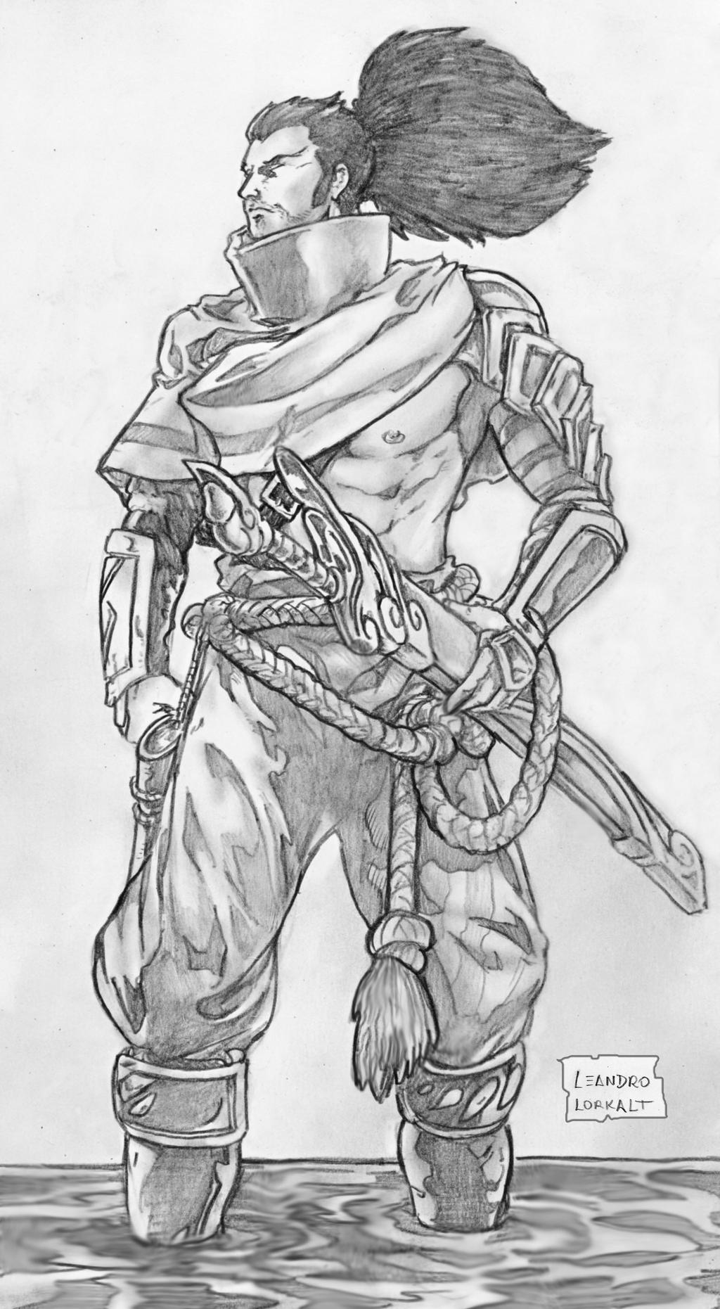 Yasuo League Of Legends By Lorkalt On Deviantart