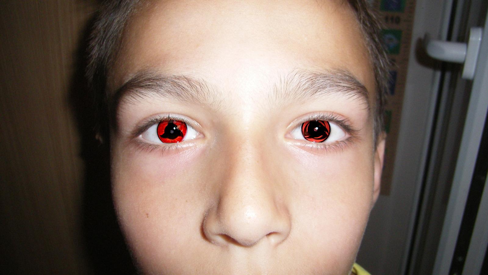 Sharingan Eyes - Narut...