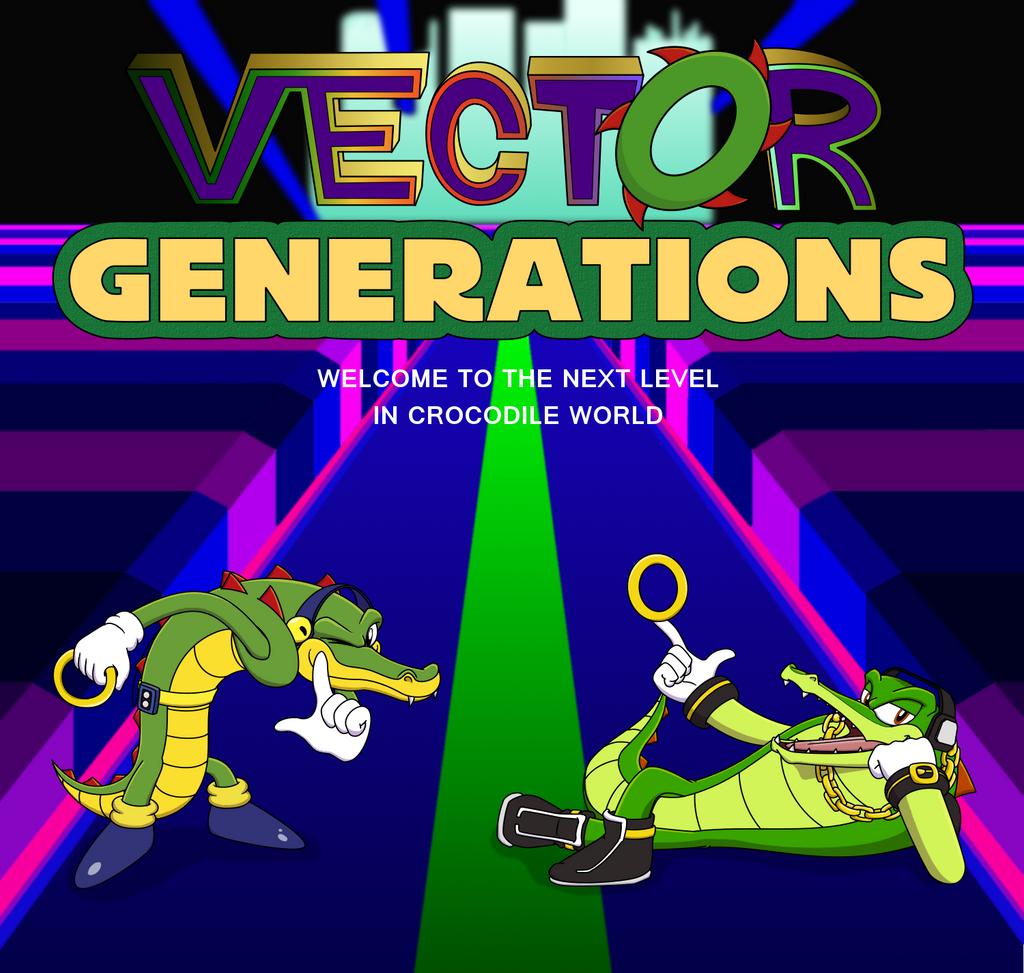 Classic Vector The Crocodile