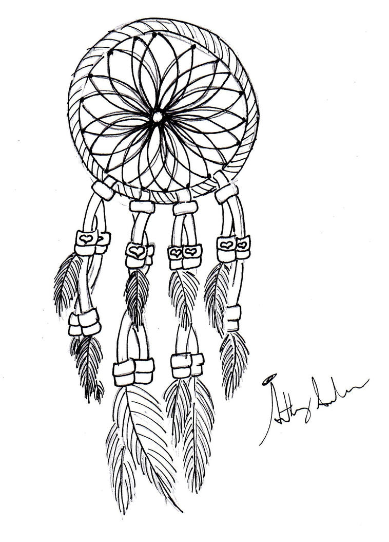 dreamcatcher coloring pages - dream catcher v1 by gamerfreakwitha360 on deviantart