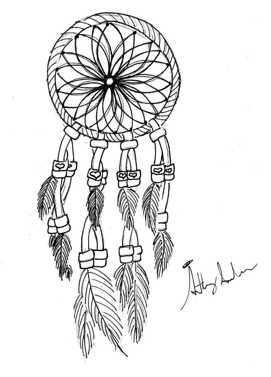 dreamcatcher tattoo template - dream catcher v1 by gamerfreakwitha360 on deviantart