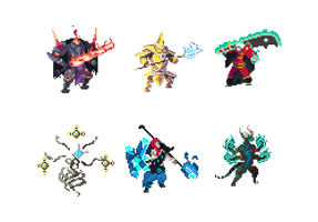 Concept Art (Duelyst) by TwoQuarters
