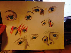Dean And Cas's Eyes Sheet
