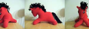 Pony Plush - Red