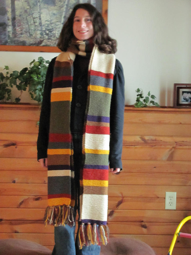 Tom Baker Scarf Knitting Pattern : Doctor Who Scarf by NocturnalEquine on DeviantArt