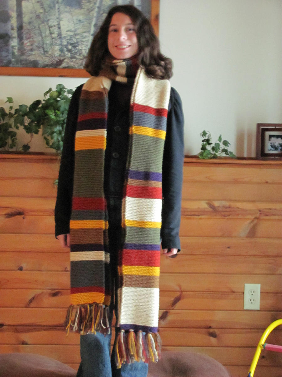 Free Knitting Pattern For Dr Who Scarf : Doctor Who Scarf by NocturnalEquine on DeviantArt