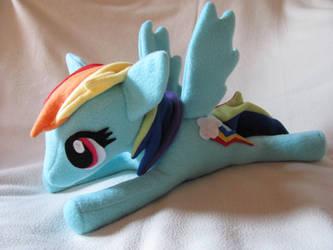 Rainbow Dash Plushie by NocturnalEquine