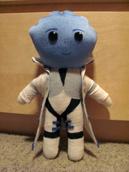 Dr. Liara T'Soni Plushie by NocturnalEquine