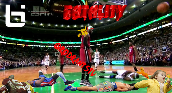 Lebron Dunks on Jason Terry by hanzojr on DeviantArt