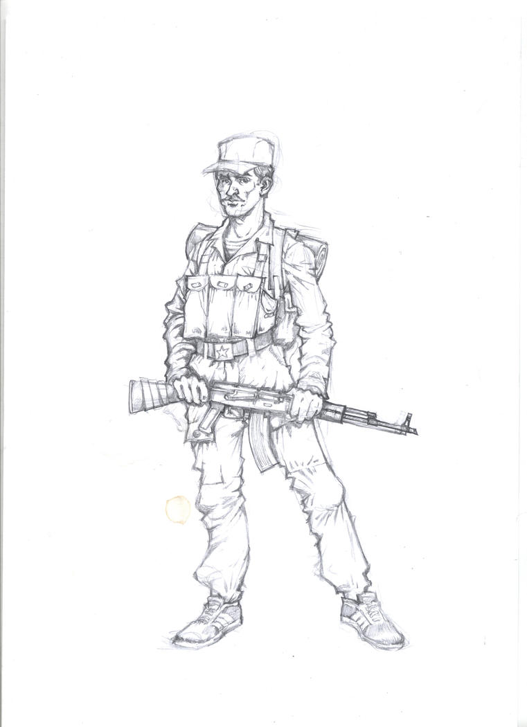 Soviet soldier by landser83 on DeviantArt
