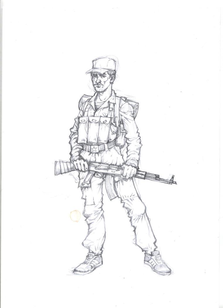 Soviet soldier by landser83 on DeviantArt