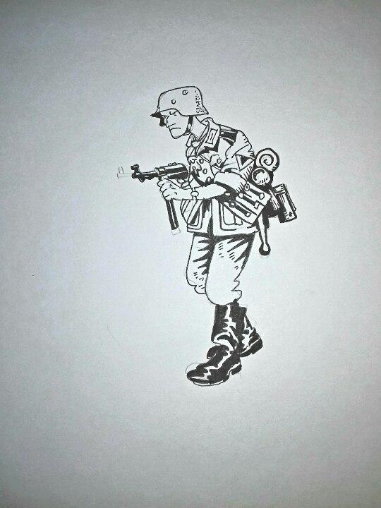 German soldier by landser83