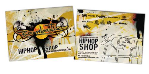 Boombastic Shop Flyer by PhilipMondrian