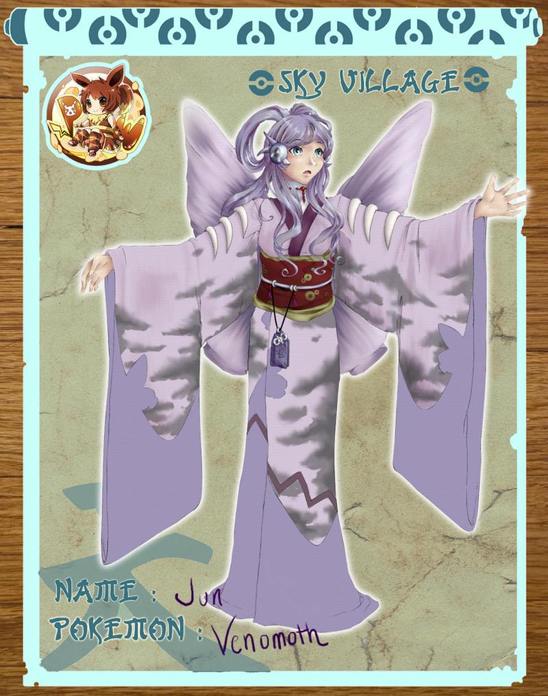 Pokimono Application: Jun by teasidesketches