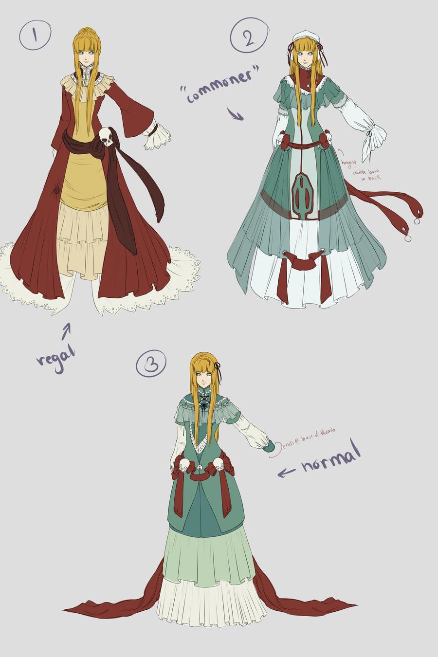 Garaku Dress Designs by RuTea