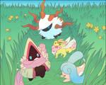 [PMD: BtS] Grassy Stroll